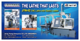 Latest Exhibition News of JARNG YEONG - Taiwan Top CNC Lathe