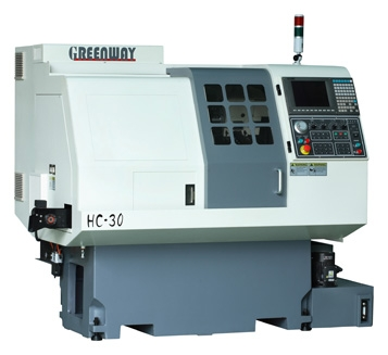 CNC Lathe with Gantry Loader