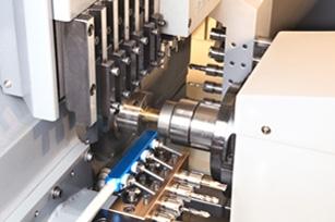 Dual-Spindle CNC Lathe