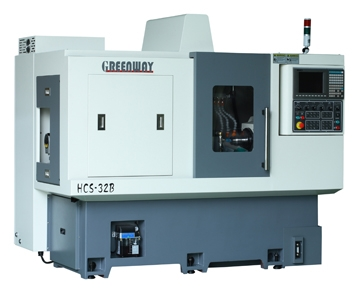 HCS-25B/32B Dual-Spindle CNC Lathe