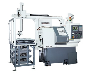 HC-30N CNC Lathe with Gantry Loader